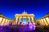 Berlin, Brandenburg gate (Brandenburger Tor)