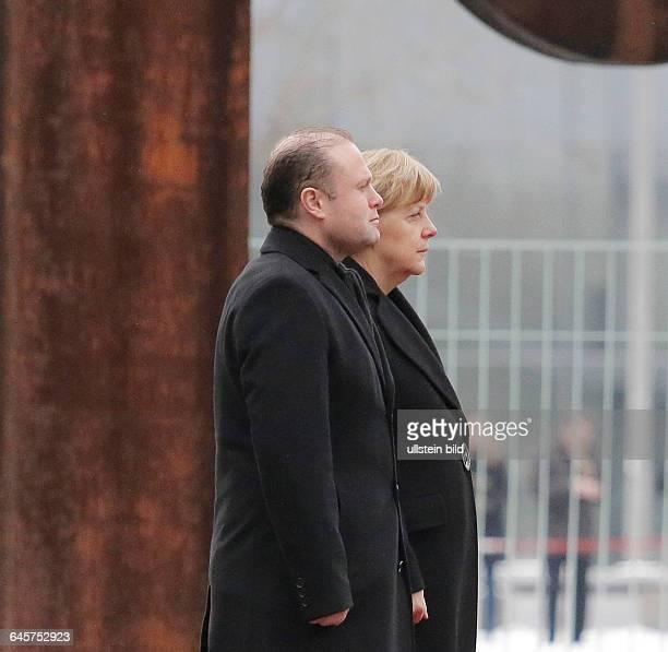 Berlin Bundeskanzleramt Empfang des maltesischen Ministerpräsidenten Muscat mit militärischen Ehren durch BK'in Merkel Foto maltesischen...