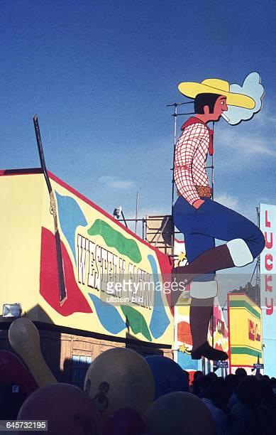 GER Berlin ca1975 DeutschFranzösischesVolksfest Lucky Luke