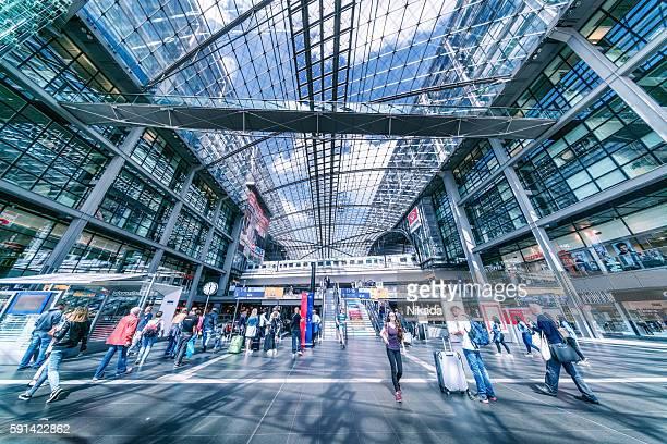 Berlin Central Station, Germany