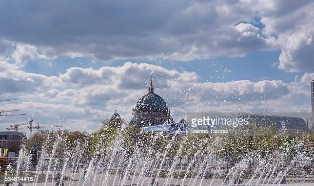Berlin Church fountain