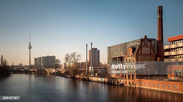 Berlin, Fernsehturm, River Spree, Cityscape