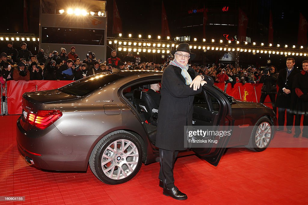 Berlin Film Festival Director <a gi-track='captionPersonalityLinkClicked' href=/galleries/search?phrase=Dieter+Kosslick&family=editorial&specificpeople=213030 ng-click='$event.stopPropagation()'>Dieter Kosslick</a> arrives at the 'The Grandmaster' Premiere - BMW at the 63rd Berlinale International Film Festival at the Berlinale Palast on February 7, 2013 in Berlin, Germany.