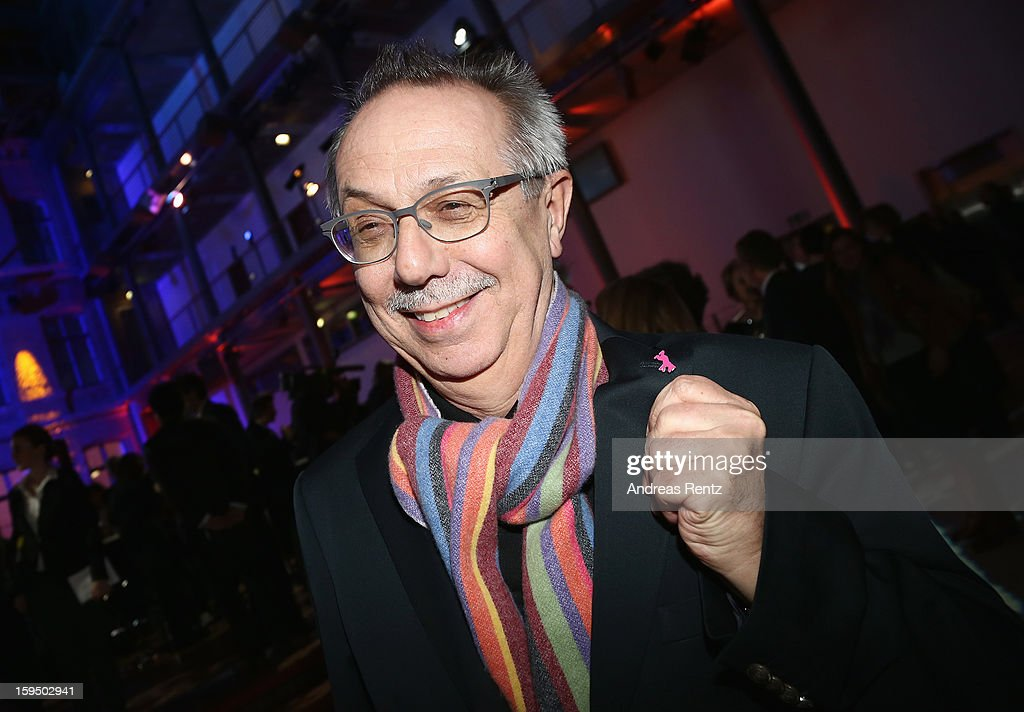 Berlin Film Festival Director <a gi-track='captionPersonalityLinkClicked' href=/galleries/search?phrase=Dieter+Kosslick&family=editorial&specificpeople=213030 ng-click='$event.stopPropagation()'>Dieter Kosslick</a> attends the '8. Nacht der Sueddeutschen Zeitung' at Deutsche Telekom representative office on January 14, 2013 in Berlin, Germany.