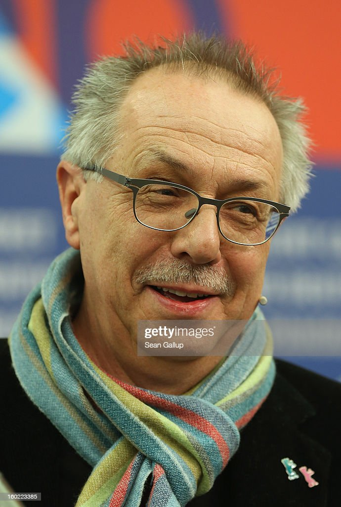 Berlin Film Festival Director Dieter Kosslick, Director of the Berlinale International Film Festival, speaks at the opening press conference of the 63rd Berlinale on January 28, 2013 in Berlin, Germany. The 63rd Berlinale will run from February 7-17.