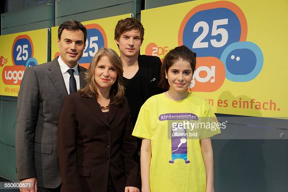fototermin 25 jahre zdf kindernachrichten logo pictures getty images. Black Bedroom Furniture Sets. Home Design Ideas