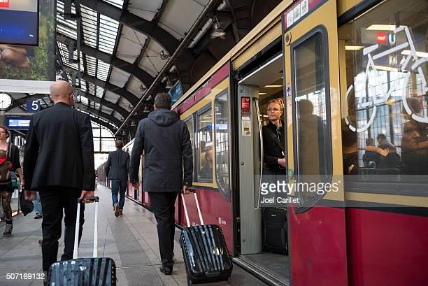 Berlin Friedrichstrasse Bahnhof in Berlin, Deutschland