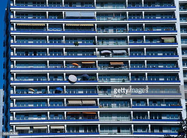 Berlin, Germany, Exterior of building block