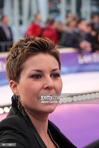 Berlin Germany March 27 2014 Presenter Vanessa Blumhagen attends at the lila carpet at the Echo Awards 2014