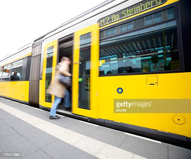 Berlin Germany tram public transport