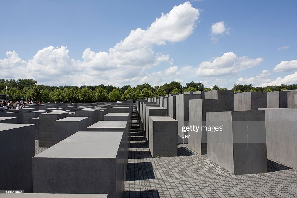 Berlin GermanyMemorial to the Murdered Jews of Europe also known as the Holocaust Memorial It is a memorial in Berlin to the Jewish victims of the...