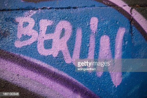 Berlin graffiti wall
