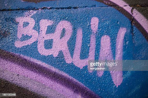 Berlin graffiti-Wand