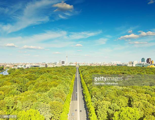 Berlin Green Skyline City in the Summer