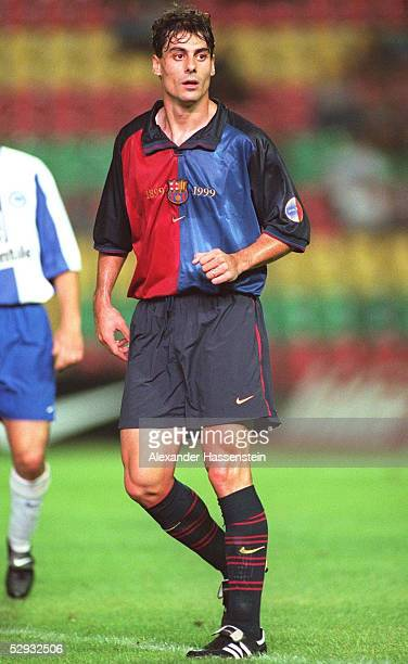 CUP 1999 Berlin HERTHA BSC BERLIN FC BARCELONA 21 DANI/FC BARCELONA