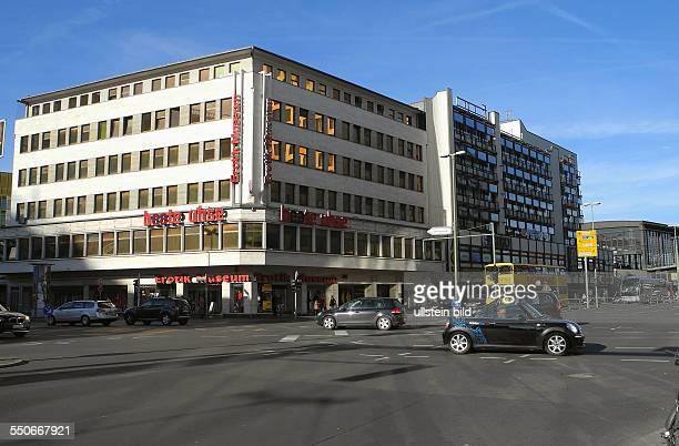 Berlin Kreuzung Kantstrasse / Joachimstaler Strasse LeineweberHaus und rechts daneben das AschingerHaus