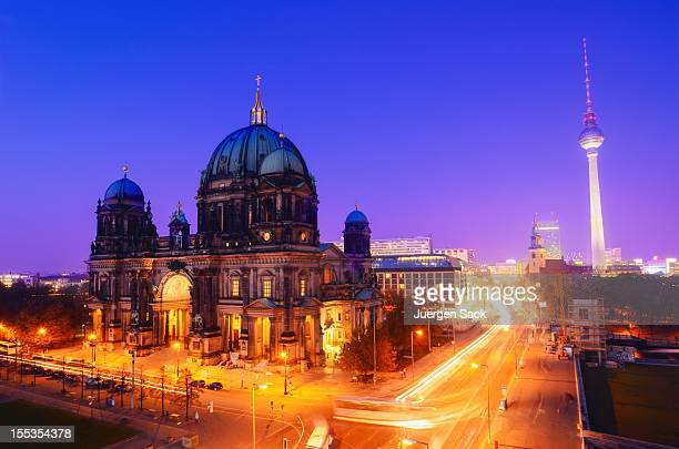 Berlin Landmarks at Night