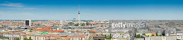 panorama sites touristiques de la ville de Berlin