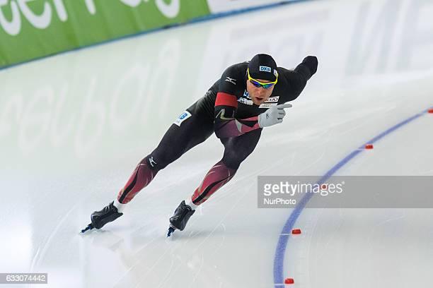2017129 Berlin Lyzwiarstwo szybkie puchar swiata ISU Speed Skating World Cup 500m Division A n z Nico Ihle during the ISU World Cup Speed Skating Day...