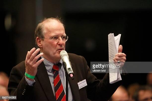 GER Berlin Marus G Wegner3Bundesparteitag in Bremen der Alternative fuer Deutschland Partei will den Ausstieg aus dem Euro im Maritim Hotel und...