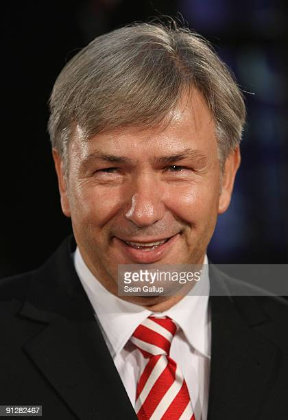Berlin Mayor Klaus Wowereit attends the Goldene Henne 2009 awards at Friedrichstadtpalast on September 30 2009 in Berlin Germany