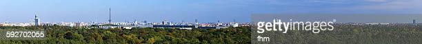Berlin - mega panorama complete city