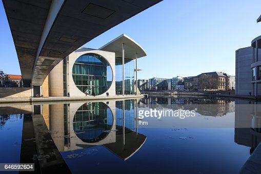 Modern Architecture Berlin berlin modern architecture in the government district stock photo