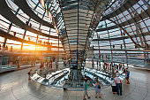 Berlin, Norman Foster's Dome of the Reichstag Bui
