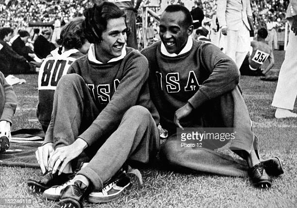 Berlin Olympic Games Jesse Owens and Helen Stephens Germany Private collection