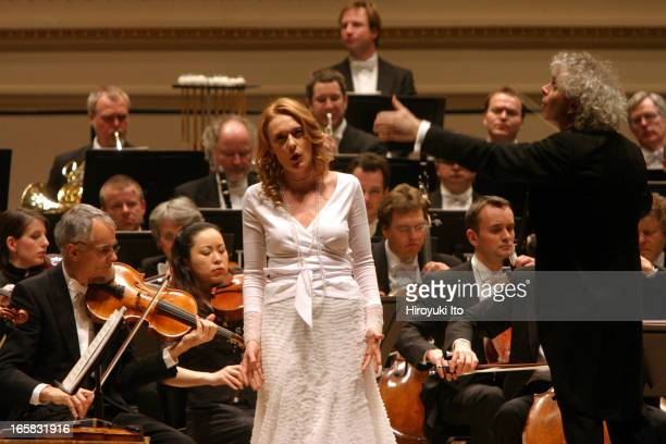 Berlin Philharmonic performing at Carnegie Hall on Thursday night January 26 2006This imageSimon Rattle conducting Berlin Philharmonic in Mahler's...