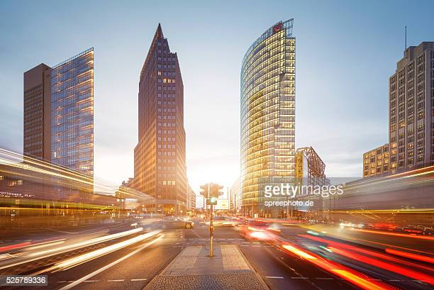 Berlin Potsdamerplatz traffic