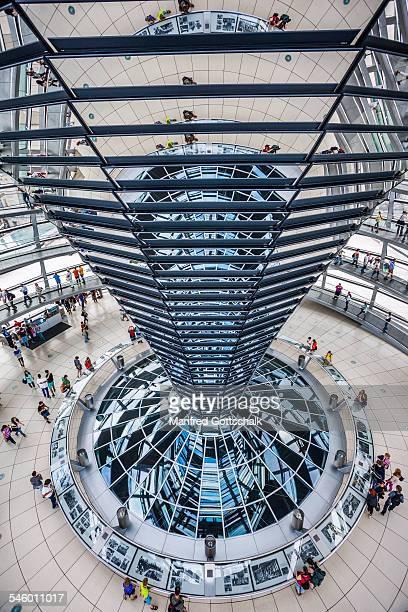 Berlin Reichstag dome interior