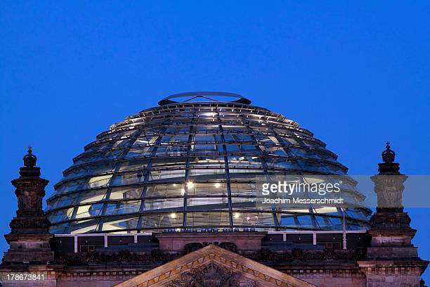 Berlin, Reichstag, glass dome