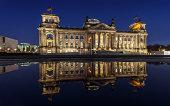 Berlin Reichstag -- parliament building