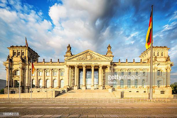 Berliner Reichstag, das Parlament Deutschland