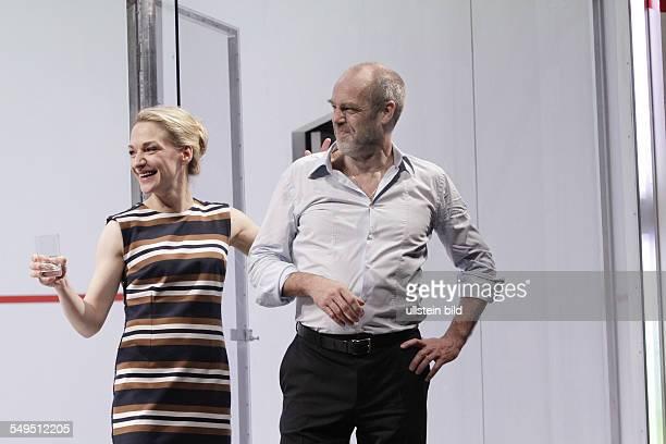 'Betrayal' by Harold Pinter actor Heikko Deutschmann and Anika Mauer