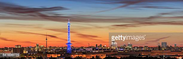 Berlin - Skyline at sunrise