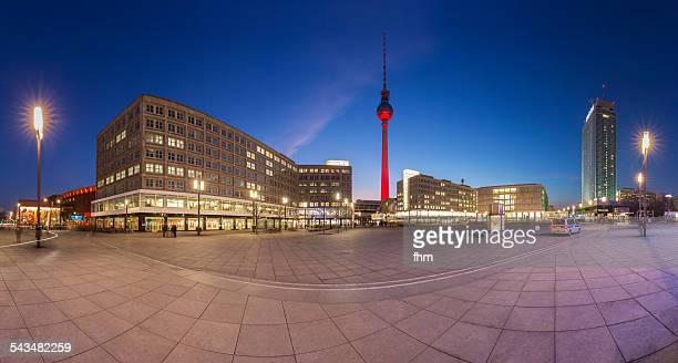 Berlin Skyline Panorama @Alexanderplatz