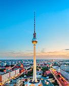 Berlin, Germany skyline.