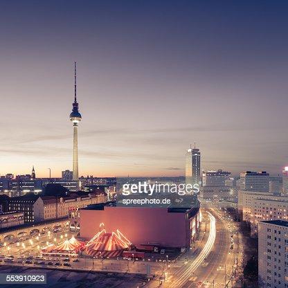 Berlin skyline with fernsehturm
