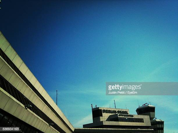 Berlin Tegel Airport Against Blue Sky