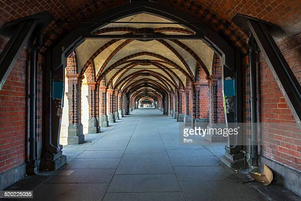Berlin - the tunnel on the Oberbaumbrücke