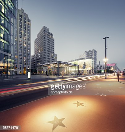 Berlin walk of fame, Potsdamer Platz