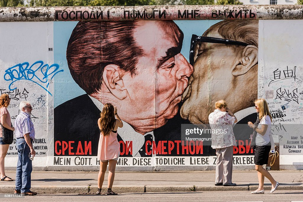 Berlin Wall East Side Gallery, murales