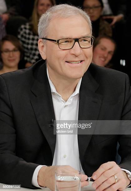Berlin ZDF PolitTalk Maybrit Illner Thema Hitzlsperger bricht ein Tabu wie tolerant ist der Fußball Foto Michael Vesper Generaldirektor des Deutschen...