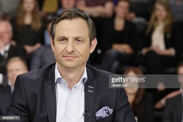Berlin ZDF PolitTalk 'Maybrit_Illner' Thema Geduld am Ende Großer Knall um Griechenland FotoGeorgios Chatzimarkakis ehemaliger FDPPolitiker und...