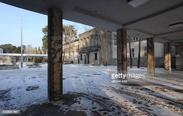 Berlin Zehlendorf Alliierten Museum leerstehendes Gebäude welches nach dem 2 Weltkrieg als 'Headquarter der US Berlin Brigade diente