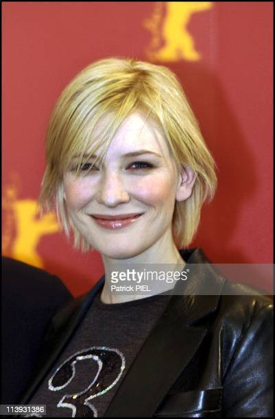 Berlinale 2002 The Shipping News By Lasse Hallstrom In Berlin Germany On February 11 2002Cate Blanchette