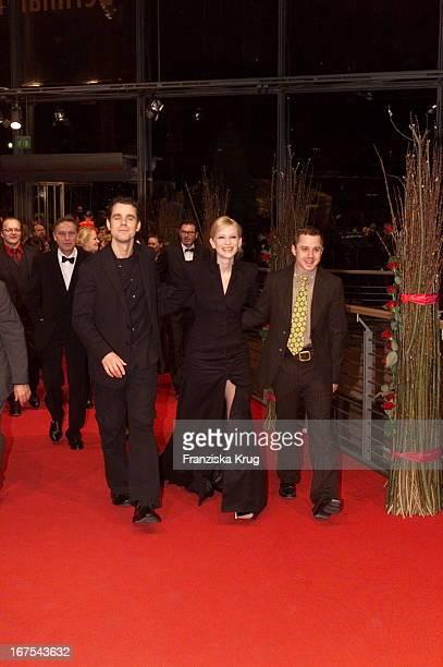 Tom Tykwer Cate Blanchett Giovanni Ribisi Bei Eröffnungsfilm 'Heaven'