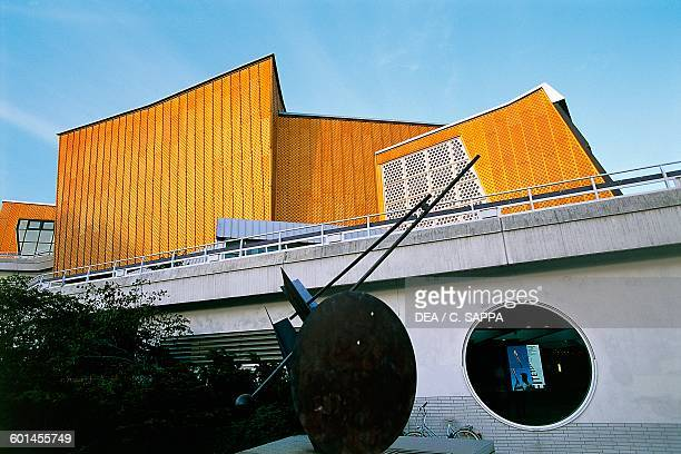 Berliner Philharmonie Concert Hall 19601963 architect Hans Scharoun detail Berlin Germany 20th century